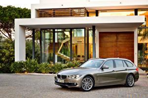 Wallpaper BMW Estate car Luxury Line 2015 F31 Touring 330d Cars