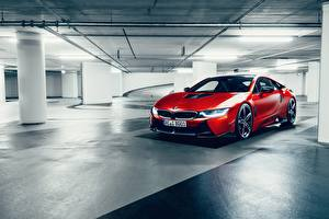 Fotos BMW Fahrzeugtuning Rot 2017 AC Schnitzer ACS8 Autos