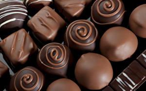 Bilder Bonbon Schokolade Großansicht Lebensmittel