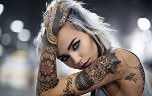 Images Hands Tattoos Staring Body piercing Girls
