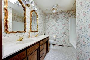 Fotos Innenarchitektur Design Badezimmer Spiegel Toilette