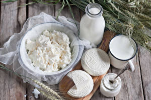 Fotos Milch Topfen Weißkäse Quark Hüttenkäse Käse Ähre