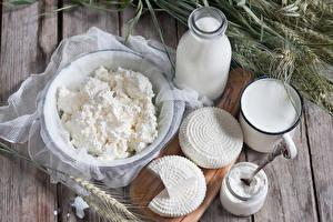 Fotos Milch Topfen Weißkäse Quark Hüttenkäse Käse Ähre Lebensmittel