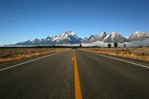 Hintergrundbilder Gebirge Wege Asphalt Natur