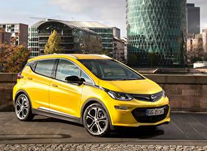 Fotos Opel Gelb Metallisch 2016 Ampera-e