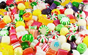 Fotos Süßigkeiten Bonbon Viel Lebensmittel