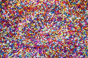 Bilder Süßigkeiten Bonbon Viel Textur Mehrfarbige Sweet Jelly Candies Lebensmittel