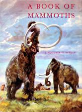 Hintergrundbilder Zdenek Burian Mammute Schreien