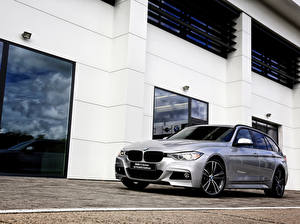 Photo BMW Silver color Estate car 2015 F31 40 YEARS Edition Touring 330d auto