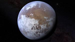 Fotos Großansicht Planeten Mars Weltraum