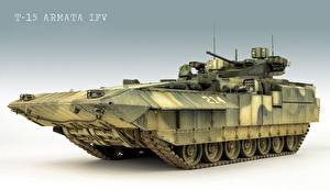 Image Infantry fighting vehicle Russian T-15 Armata