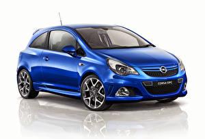 Hintergrundbilder Opel Blau Corsa OPC 2013 Autos
