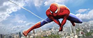 Bakgrunnsbilder Spider-Man superhelt Superhelter Edderkoppsilke Fantasy