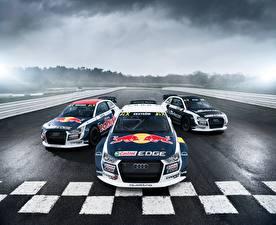 Image Audi Tuning Rallying Three 3 Front 2014-17 S1 EKS RX quattro auto