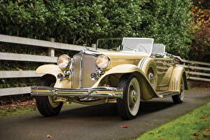 Wallpaper Chrysler Vintage Convertible 1931 Imperial Dual Cowl Phaeton by LeBaron