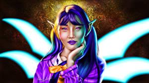 Fonds d'écran Elfes Asiatique Voir Chuohhyun Fantasy Filles