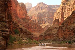 Bilder Grand Canyon Park USA Park Berg See Canyon Felsen