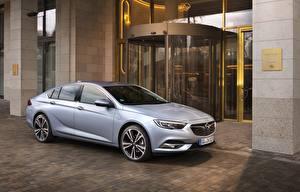 Fotos Opel Silber Farbe 2017 Insignia Grand Sport Turbo D auto