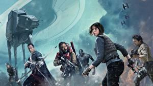 Bakgrundsbilder på skrivbordet Rogue One: A Star Wars Story Kändisar Fantasy