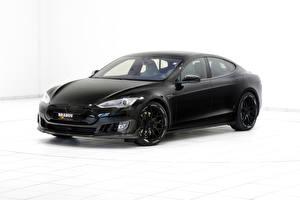 Hintergrundbilder Tesla Motors Brabus Schwarz Brabus Model S
