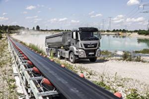 Hintergrundbilder Lastkraftwagen MAN SE  auto