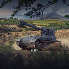 Pictures World of Tanks Self-propelled gun German Blitz, Grille 15 vdeo game