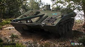 Image World of Tanks SPG Strv S1 Games
