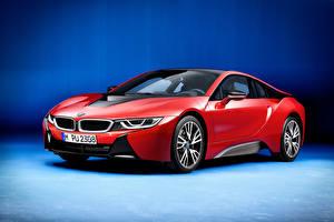 Hintergrundbilder BMW Rot I12 Autos