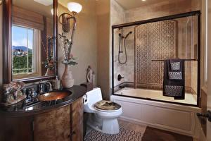 Bilder Innenarchitektur Design Badezimmer Lampe Toilette