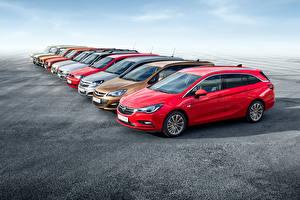Bilder Opel Viel Asphalt