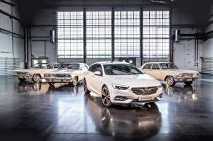 Fotos Opel Metallisch Weiß
