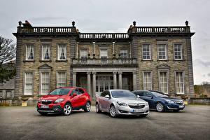 Fotos Opel Drei 3 Metallisch Vorne Autos