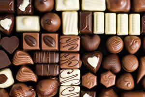 Fotos Süßigkeiten Bonbon Schokolade Hautnah Lebensmittel