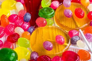 Bilder Süßware Dauerlutscher Viel Lebensmittel
