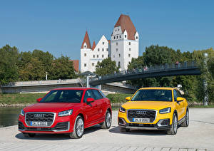 Picture Audi Two Front 2016 Q2 Cars