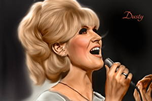 Photo Mic Dusty Springfield Girls