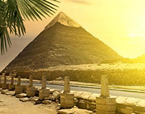 Bilder Ägypten Wege Stein Pyramide bauwerk Cairo Natur