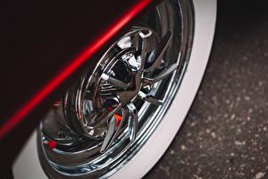 Fotos Makrofotografie Hautnah Chevrolet Räder Bel Air Autos