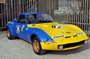 Desktop hintergrundbilder Opel Retro Fahrzeugtuning Metallisch 1970-72 GT Conrero Group automobil