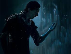 Tapety na pulpit Tom Hiddleston Mężczyzna Avengers (film 2012) Loki