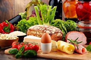 Hintergrundbilder Brot Tomate Käse Schinken Gemüse Ei Lebensmittel