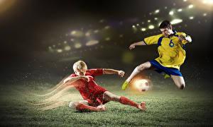Bilder Fußball Mann Ball Uniform Bein Sport