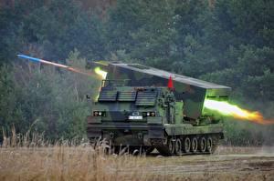 Bilder Rakete Raketenwerfer Schuss Tarnung Deutsch Heer