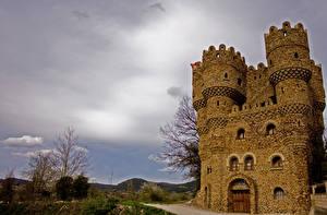 Photo Spain Castles Castillo Las Cuevas Cities