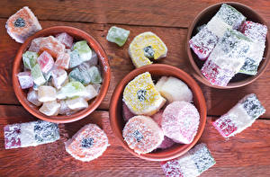 Fotos Süßware Marmelade Viel Bretter rahat-lokum Lebensmittel