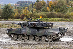 Pictures Tanks Leopard 2 German Army