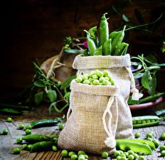 Fotos Gemüse Grüne Erbsen Getreide