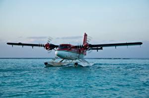 Bilder Wasser Flugzeuge Wasserflugzeug
