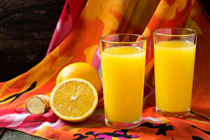Wallpapers Drinks Juice Orange fruit 2 Highball glass Food