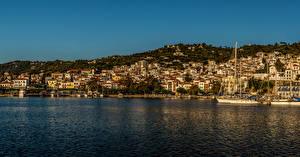 Fotos Griechenland Haus Meer Schiffsanleger Küste Skopelos Städte